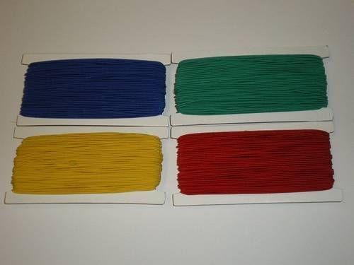 Gummiseile 1,5mm, Kartenabwicklung