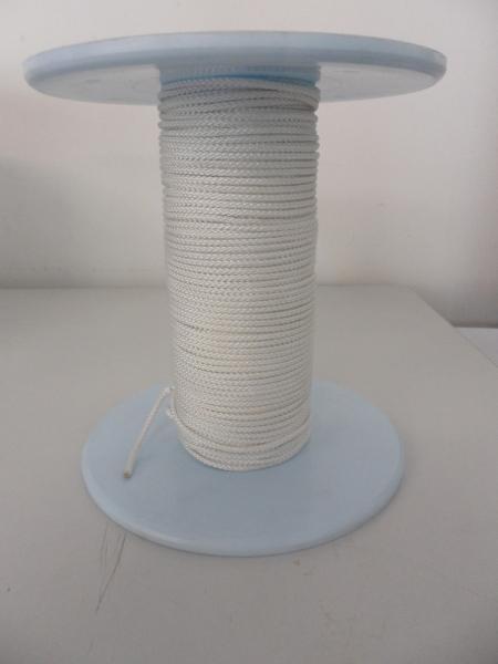 PES-Flechtschnur ø3mm, weiß