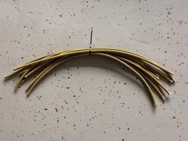Gummiseil 10mm, Bund mit 10 Stück, je 69cm lang