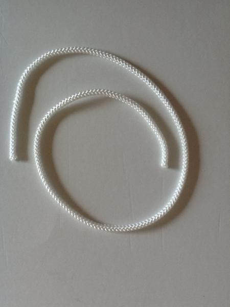PP-Flechtschnur, weiß, 4 x 590mm