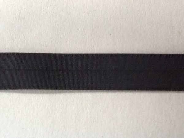 Knickgummiband, schwarz, ca. 24mm