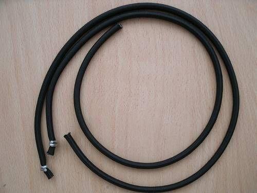 Gummiseil 5mm, schwarz, 500mm