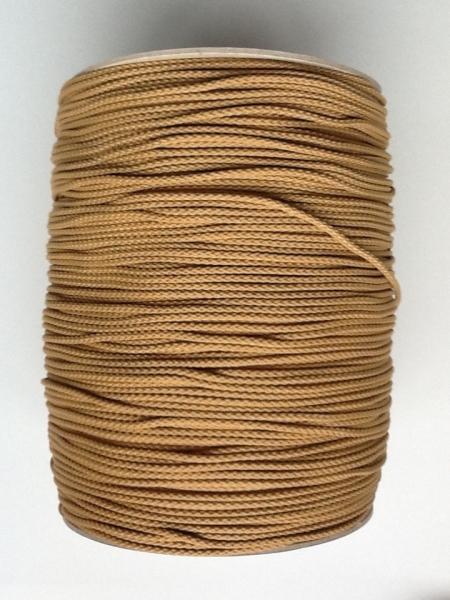 PP-Flechtschnur, 3mm, beige, Spule a 500m