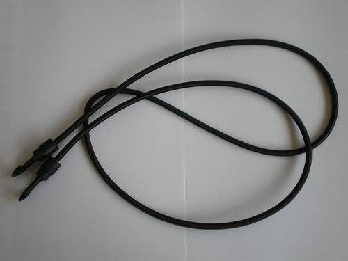 Gepäckspanner schwarz, 5,5 x 1270