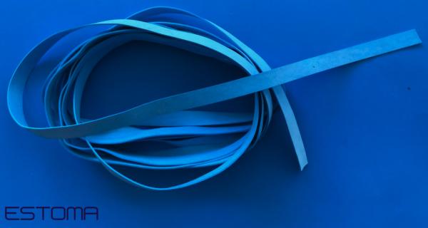Latexband für Schutzmasken 5mm blau