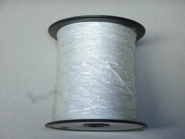 PES-Flechtschnur 1mm, weiß, 190m